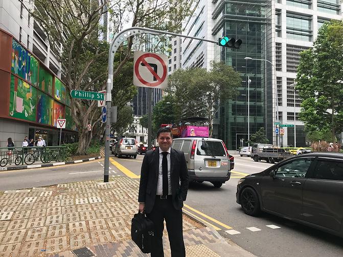Brad Loncar Singapore Street
