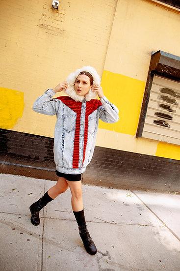 Poncho Jacket Huayruru Frente