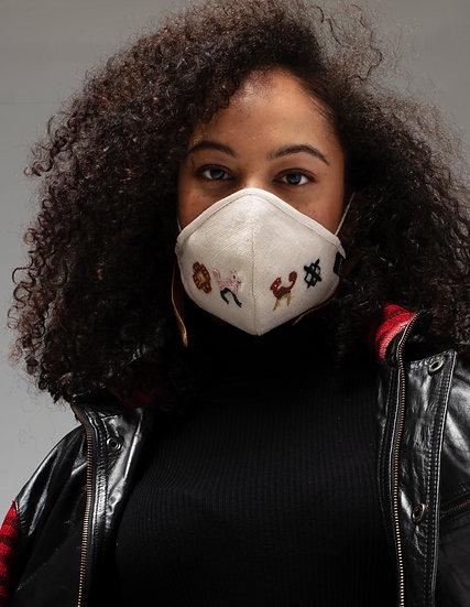 Mollo Masks - Upcycled Wool 1