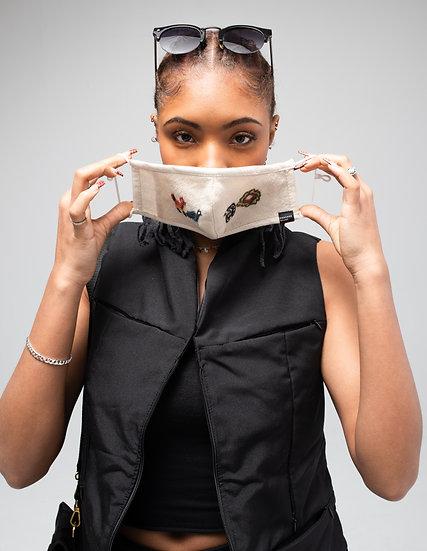 Mollo Masks - Upcycled Wool 2