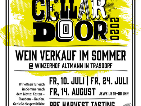OPEN CELLAR DOOR bei Matthias Altmann!