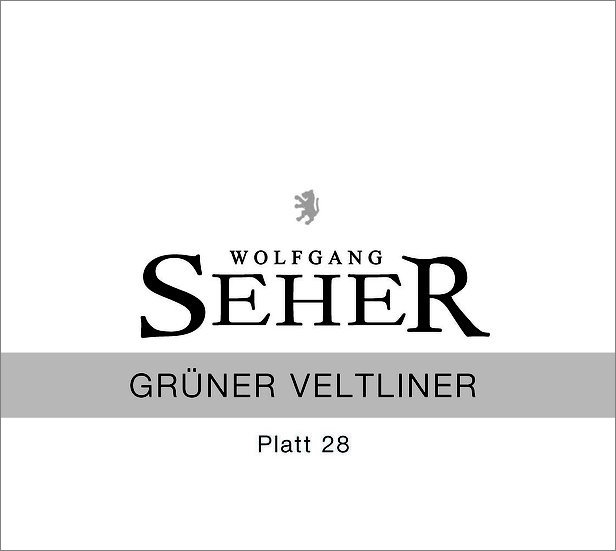 2019 GRÜNER VELTLINER Platt 28 Weinviertel DAC