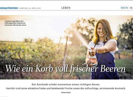 Prickelnde News in den Salzburger Nachrichten