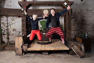 Jakob&Petra alte Weinpresse_voller Energ