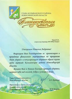 Глава Колыванского раона Новосибирской области