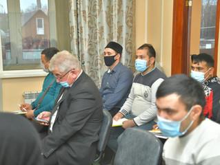 В Старой Купавне прошел очередной бесплатный семинар для трудовых мигрантов