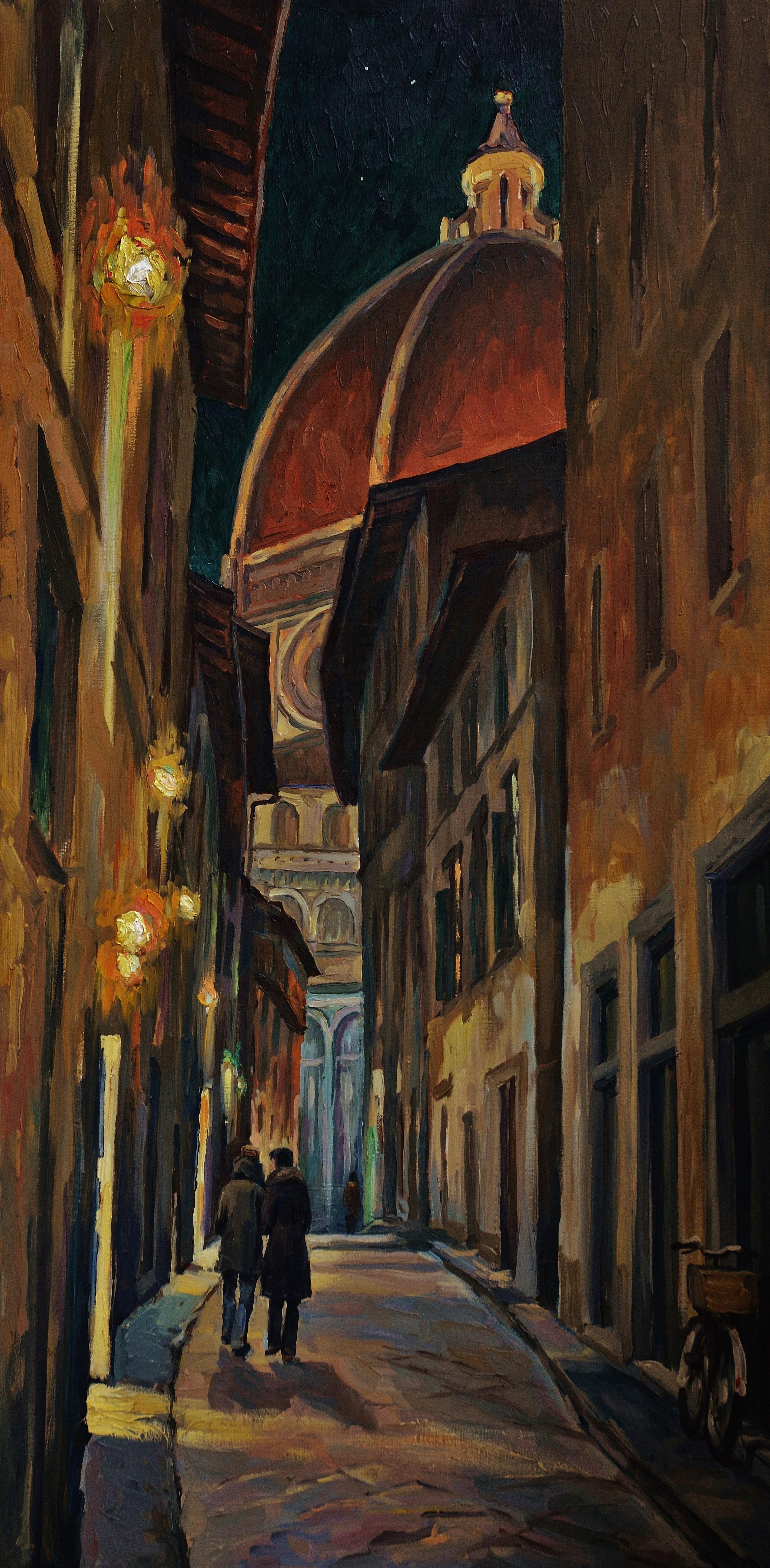 Ночная Флоренция-50х1.0 х.м2010г.