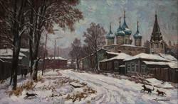 Зимний Гороховец 60х100х.м.2016г.
