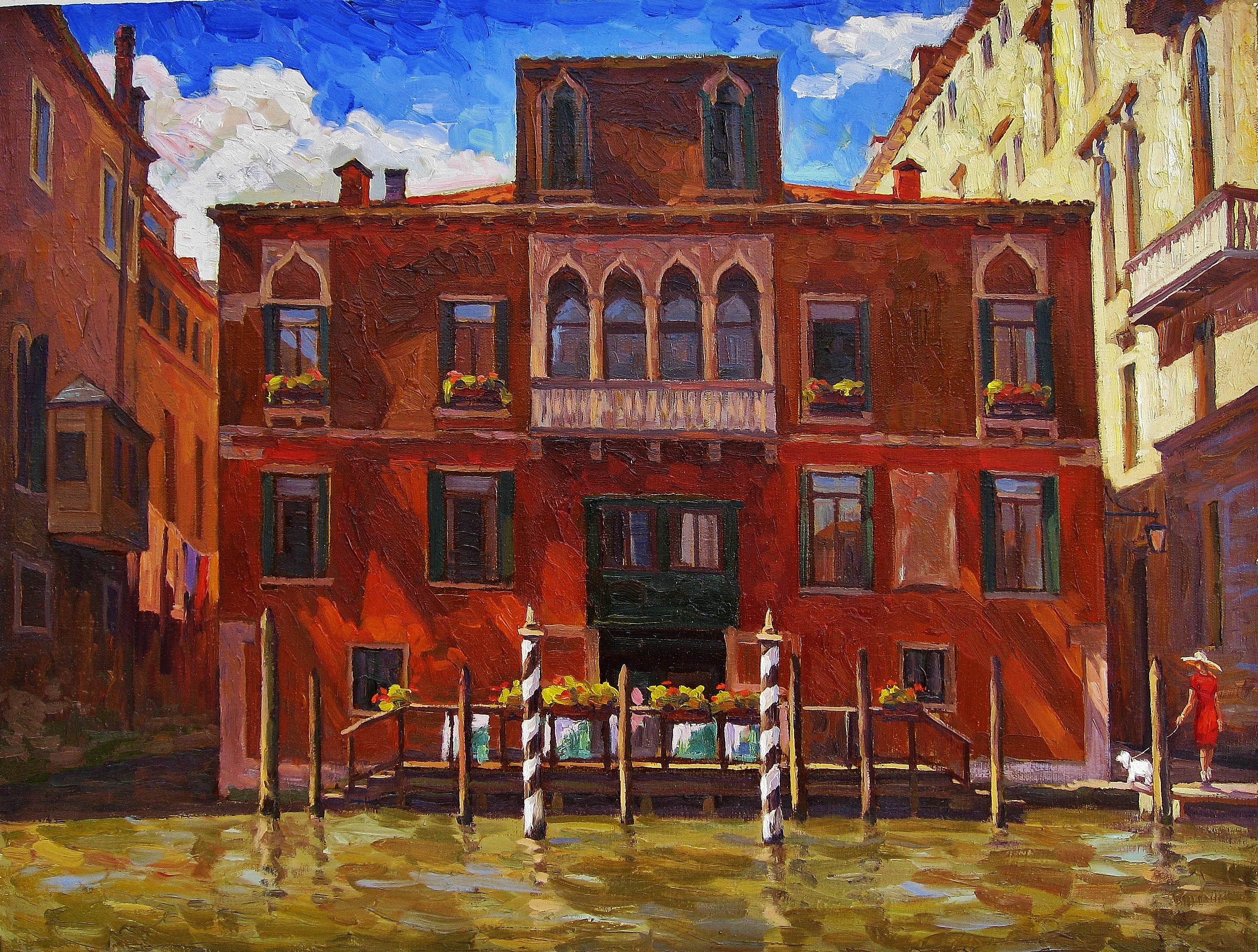 35.Солнечный день в Венеции-60х80х.м