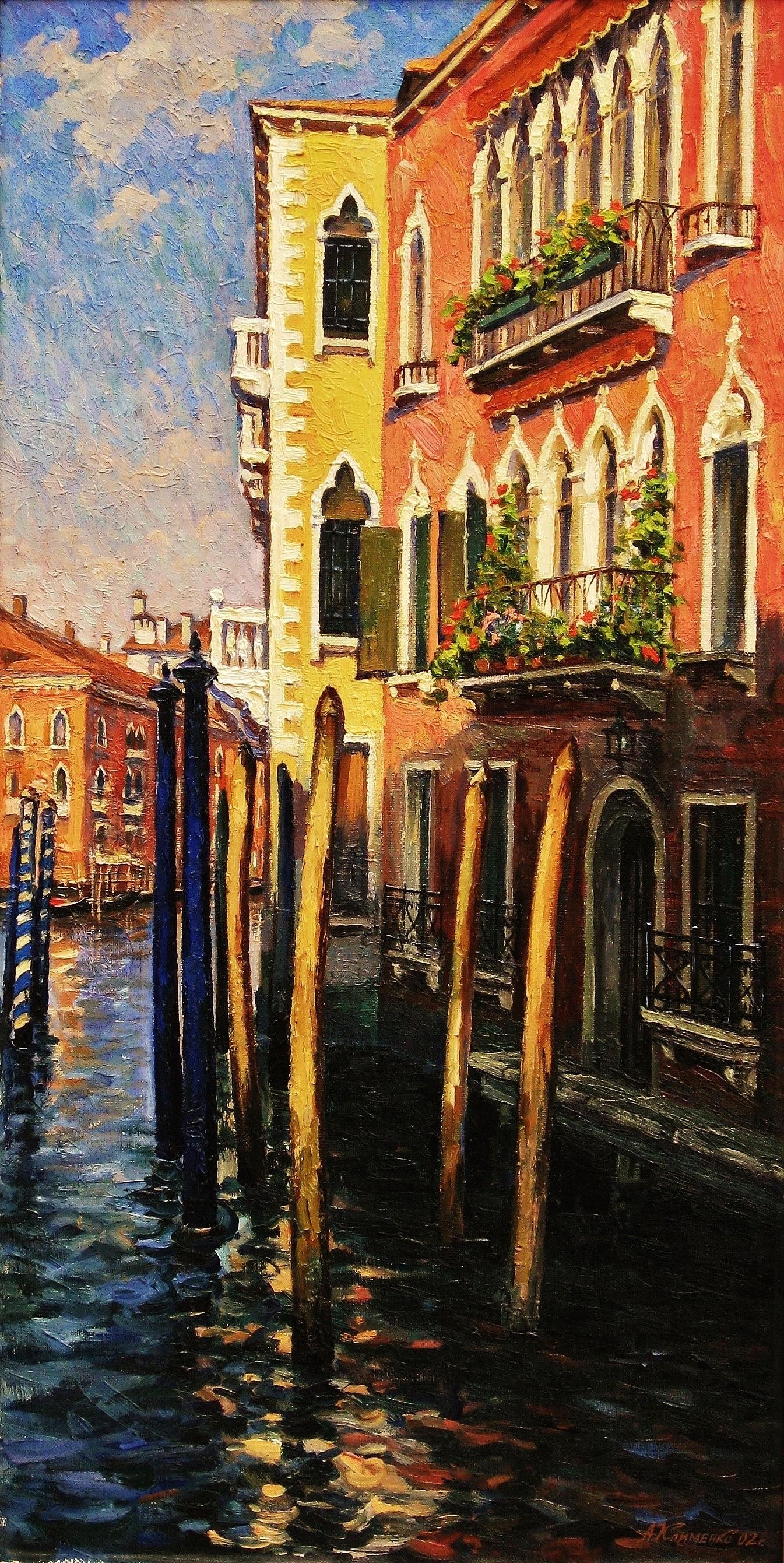 20. Утро в Венеции-50х90см-х.м.2003г.