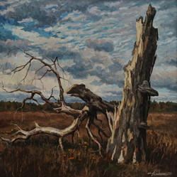 Старое дерево.100х100х.м.2016г.