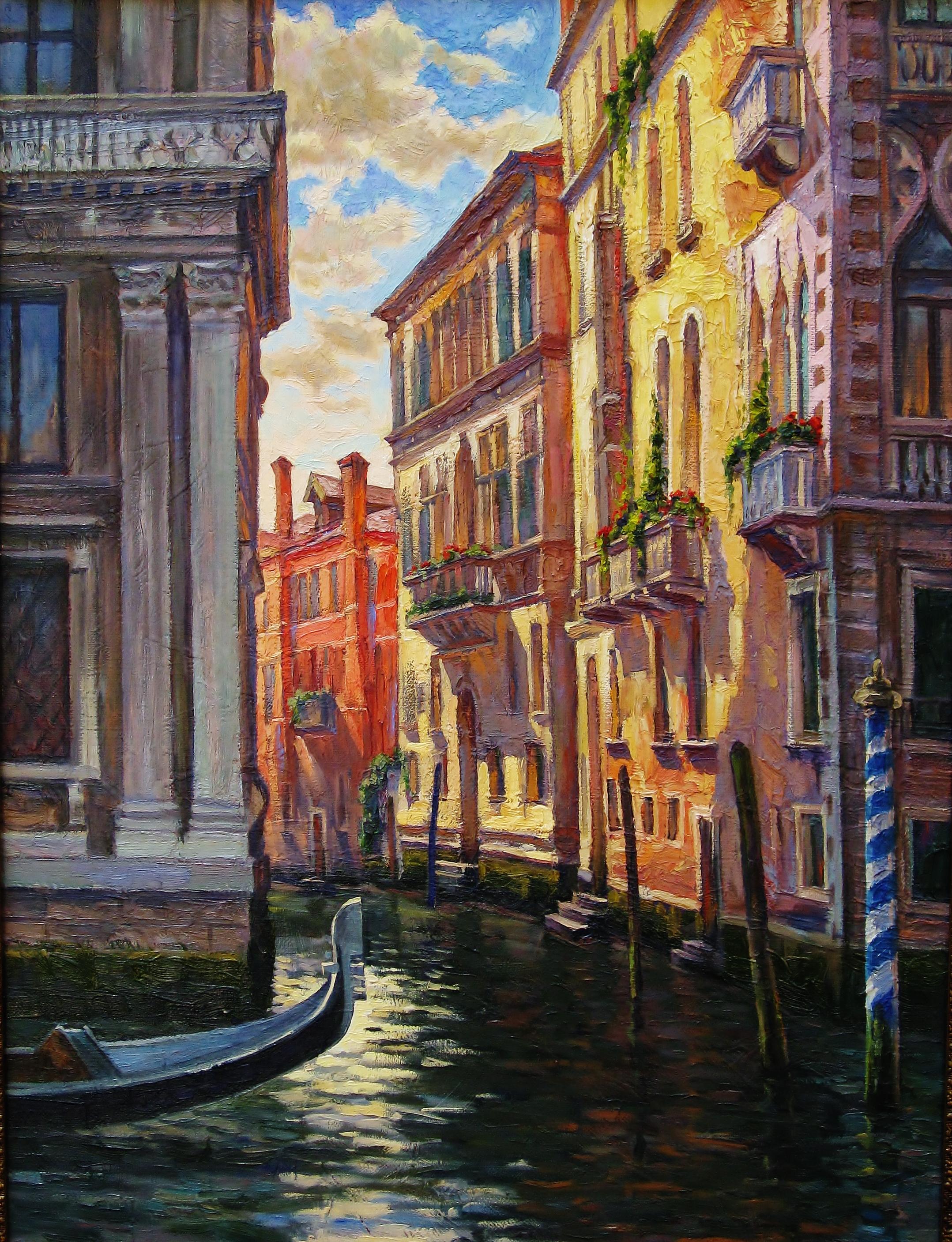 25. Гранд- канал в Венеции-60х80см-х.м