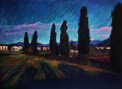 13.Тосканские равнины 55х75 цв.бум