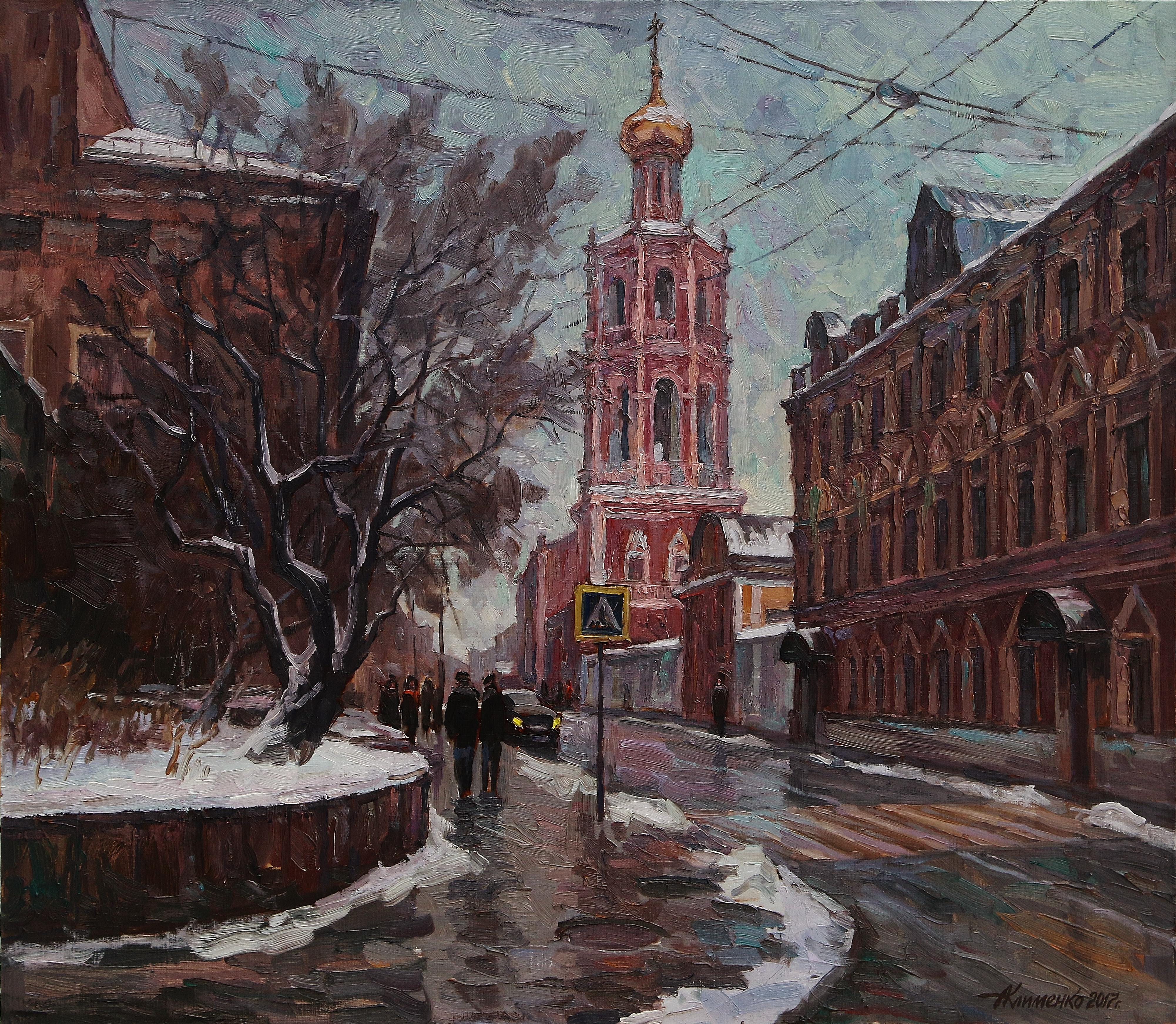 Улица Петровка 70х80 х.м.2017г.