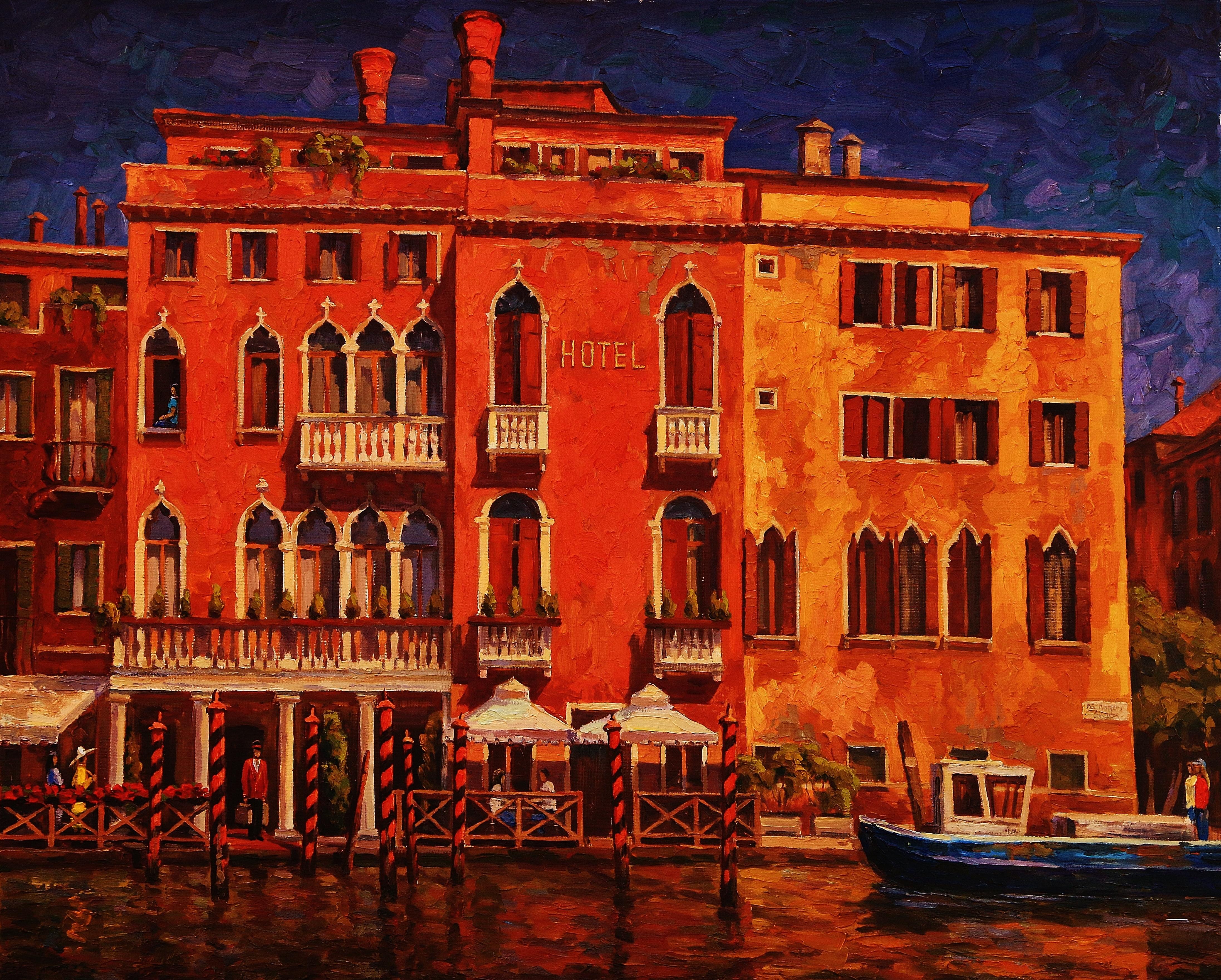 Отпуск в Венеции-90х110х.м.2015г.