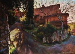07.Дома в местечке Греве,Тоскана