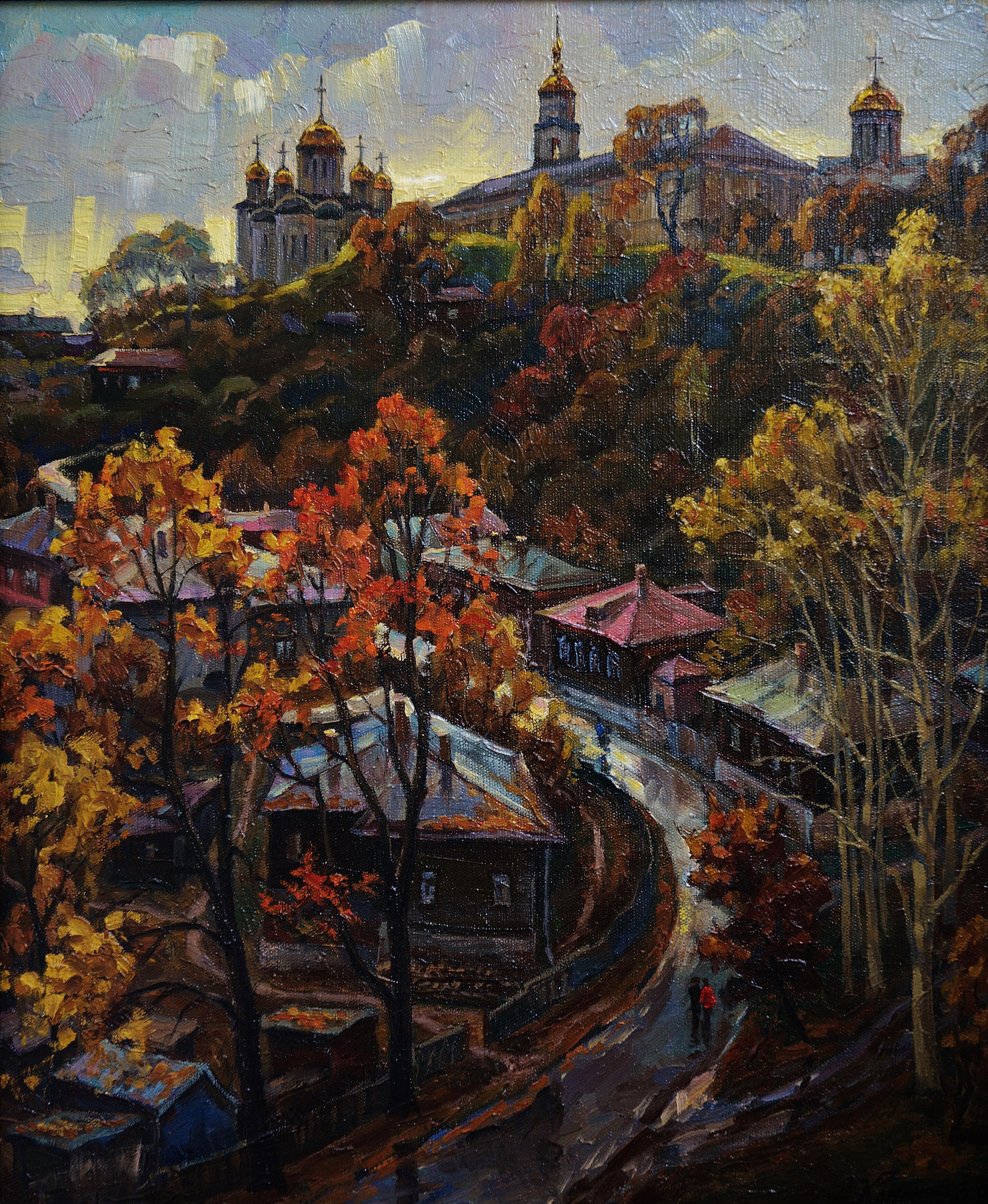 Город Владимир-50х60х.м 1987г.