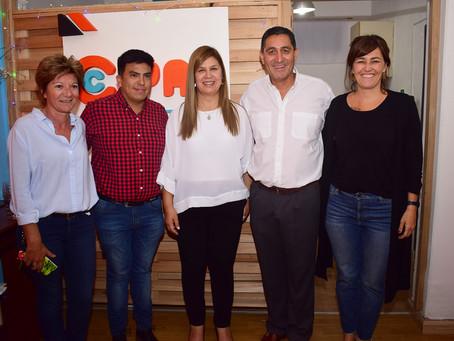 La Intendenta participó de la inauguración de la sede de la CIPAP