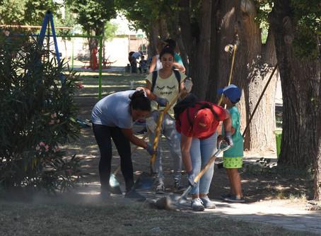 Los trabajos Comunitarios continúan en la temporada de verano