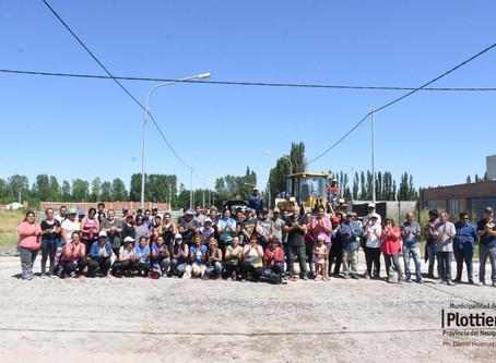 Tercer sábado de trabajos comunitarios en Altos de Alberdi