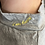 "Thumbnail: Heather Grey Short Sleeve ""I Am Happy"" Key Hole Top"