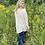 Thumbnail: Soft Pink Asymmetrical Oversized Long Sleeve Top