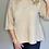 Thumbnail: Beige Flounce Sweater