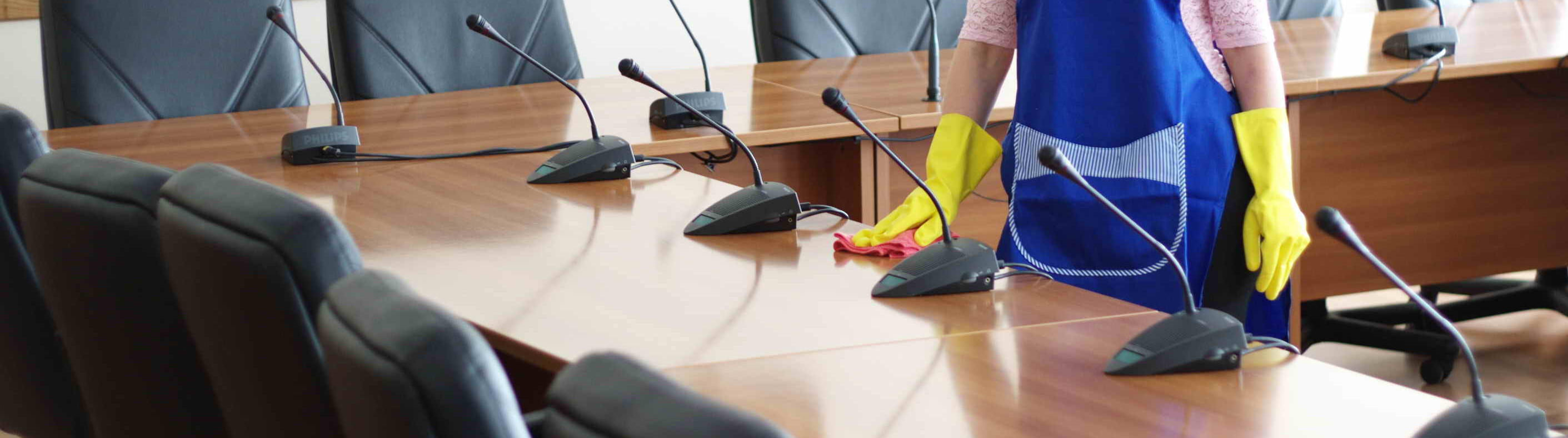 Business cleaning services.