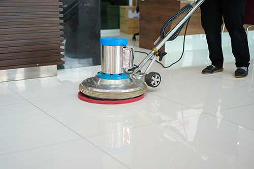 Commercial business cleaning service