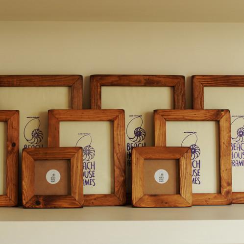 Handmade Rustic Picture Frame | A2, A3, A4, A5, 4x4, 5x5, 6x6, 6x8 ...