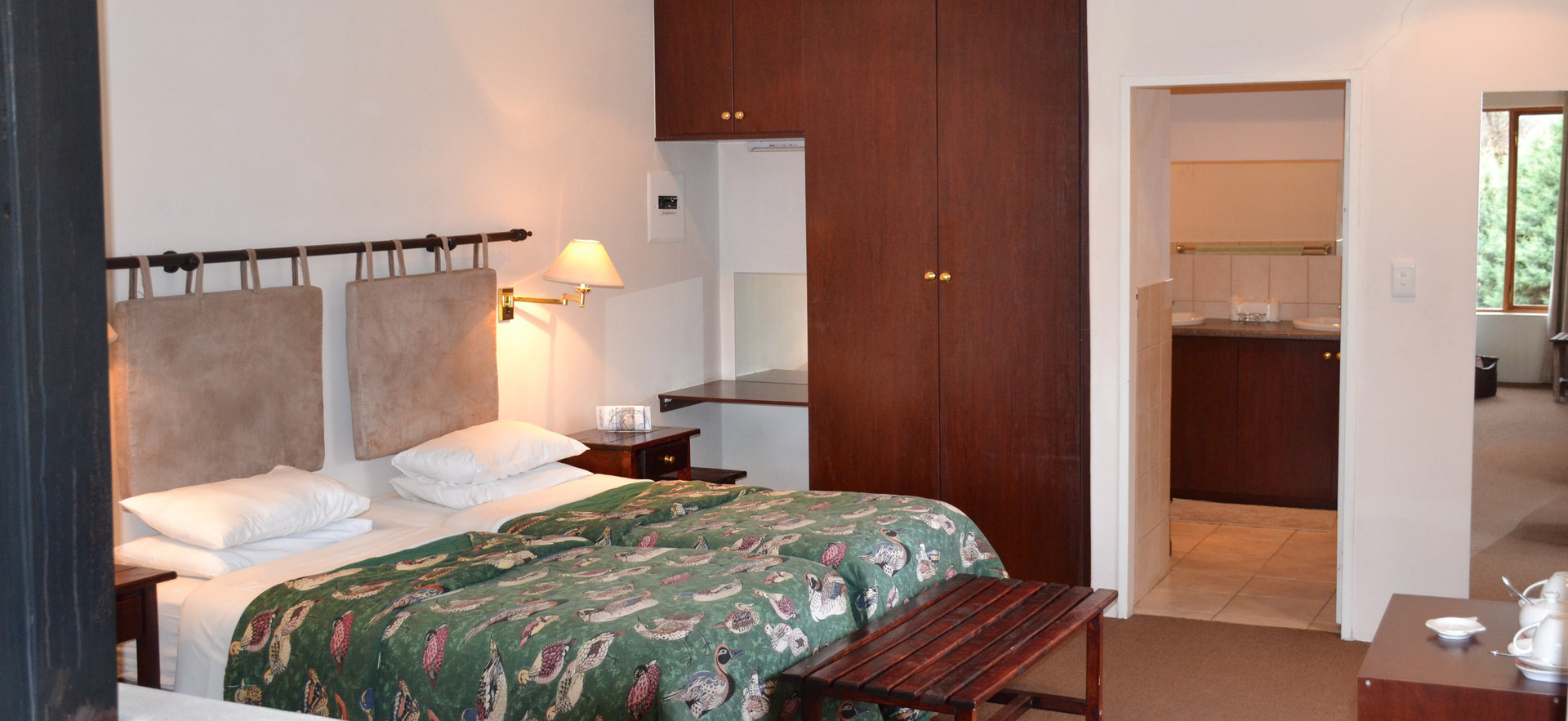 Garden Suite 2 Twin bed