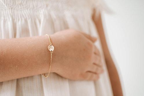 Little ones circle bracelet