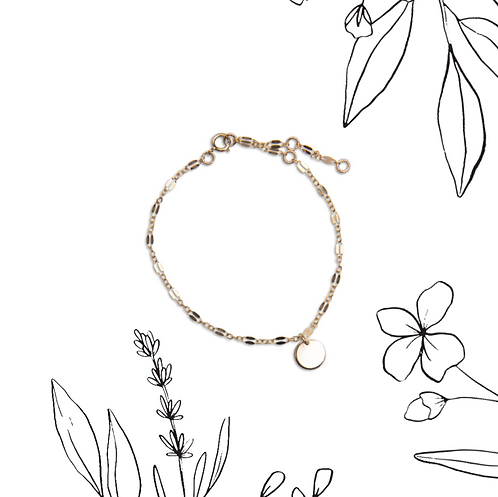 Wildflower lace bracelet