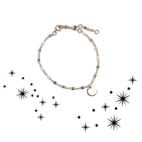Zodiac lace bracelet