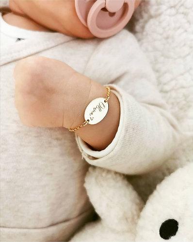 Mini oval bracelet