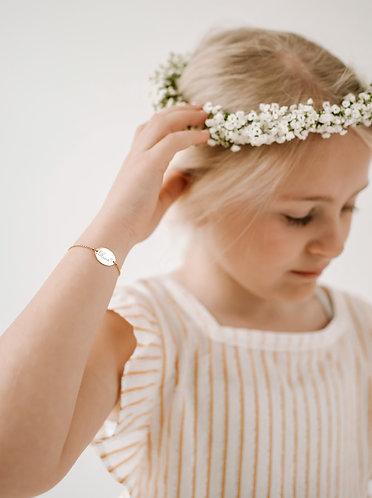 Little ones oval bracelet