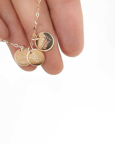 """""""Good vibes"""" necklace"""