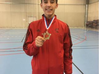 Antoni, Champion de région Technique