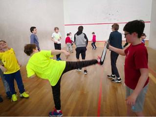 Les jeunes du TCM5 s'essaient au Taekwondo