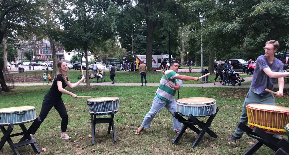 Stretch out with taiko flow