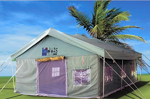 Weather Frame Tent, UNHCR Tent, NGO Tent, Relief Tent
