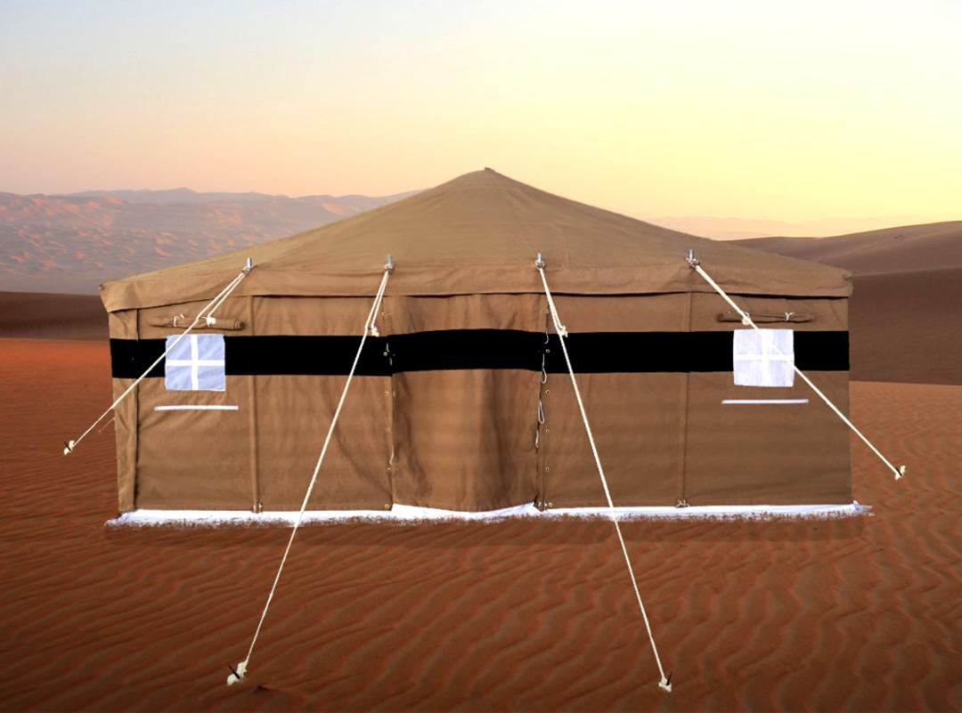 Khaki Deluxe Tent