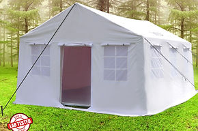 Lightweight Tent, UNICEF Tent, UNHCR Tent, PVC Tent, Frame Tent, Relief Tent