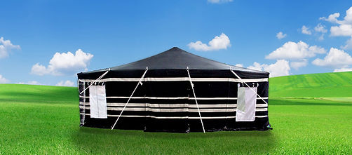 Deluxe Tent, Canvas Tent, Kuwaiti Tent, Saudi Tent, Camping Tent, Buy Kuwaiti Tent, Buy Deluxe Tent, Deluxe Tent Pakistan, Canvas Tents, Two Fold Tents, Black and White Tent, Printed Tent, Dyed Tent