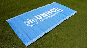 synthetic sleeping mat, refugee mat, unhcr sleeping mat, relief mat, refugee relief