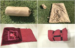 camping sleeping bag, sleeping bag, desert camping bag, folding bag, sleeping mat