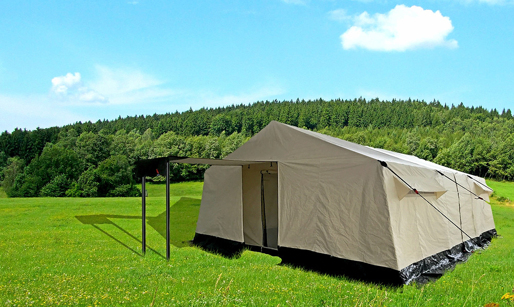 Multipurpose Tent, Relief Tent, Frame Tent, ICRC Tent, UNHCR Tent