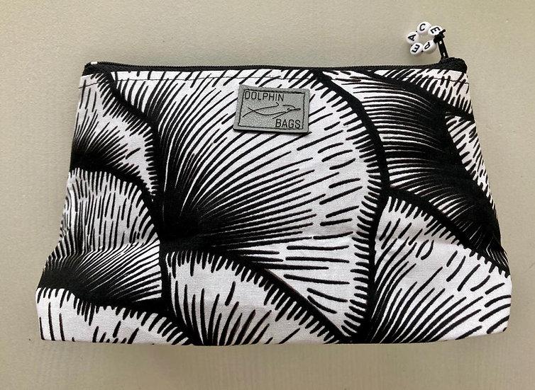 Cosmetic Bag - UZURI 1 - black&white