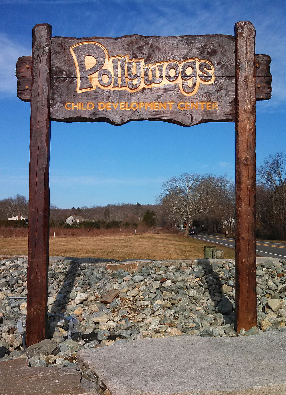 Wooden carved sign, cnc routed, painted sign, sign near you.
