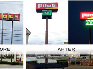 Sign removal and installation